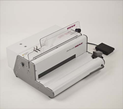 Binding Machines : RENZ SPB360 Electric Spiral Binding Machine