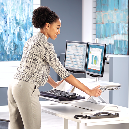 Office Comfort Lotus Sit Stand Workstation