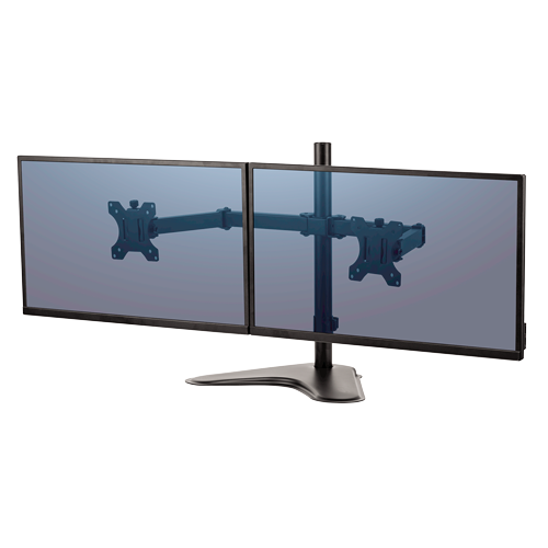 Professional Series Free-standing Dual Horizontal Monitor Arm