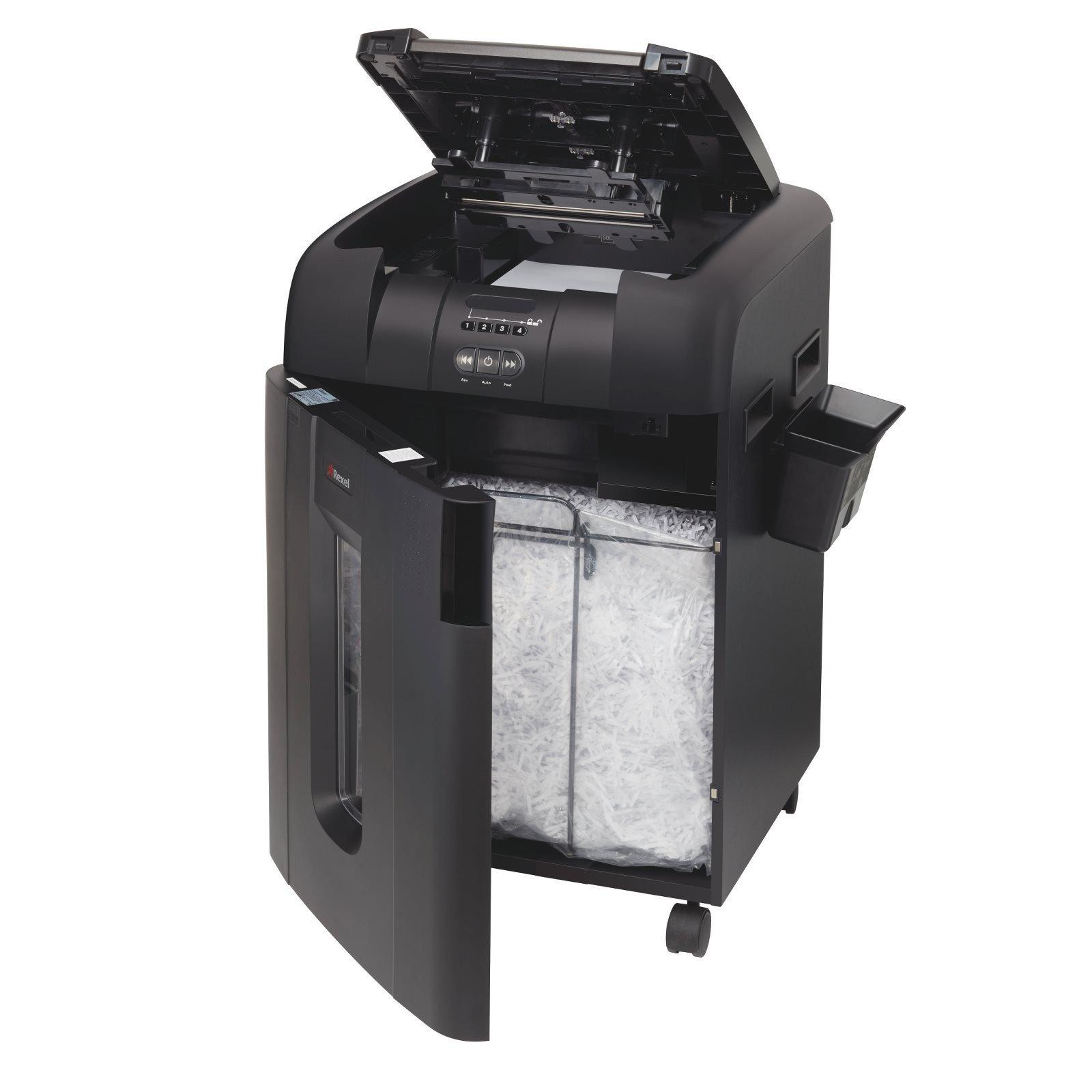 shredder large office auto 600x cross cut shredder. Black Bedroom Furniture Sets. Home Design Ideas