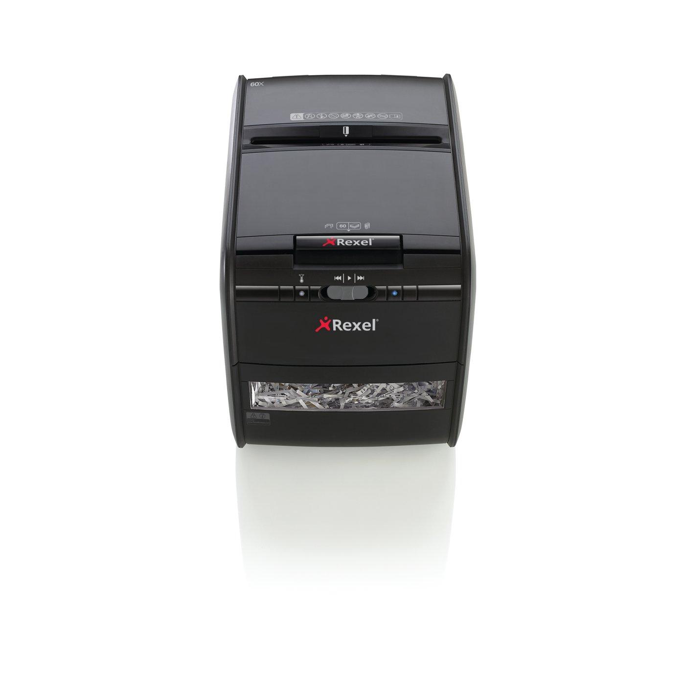 Rexel Auto+ 60X Shredder Cross Cut