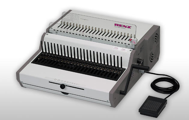RENZ Combi E Electric Comb Binder