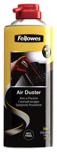 HFC Free Air Duster 520ml Can/350ml Fill
