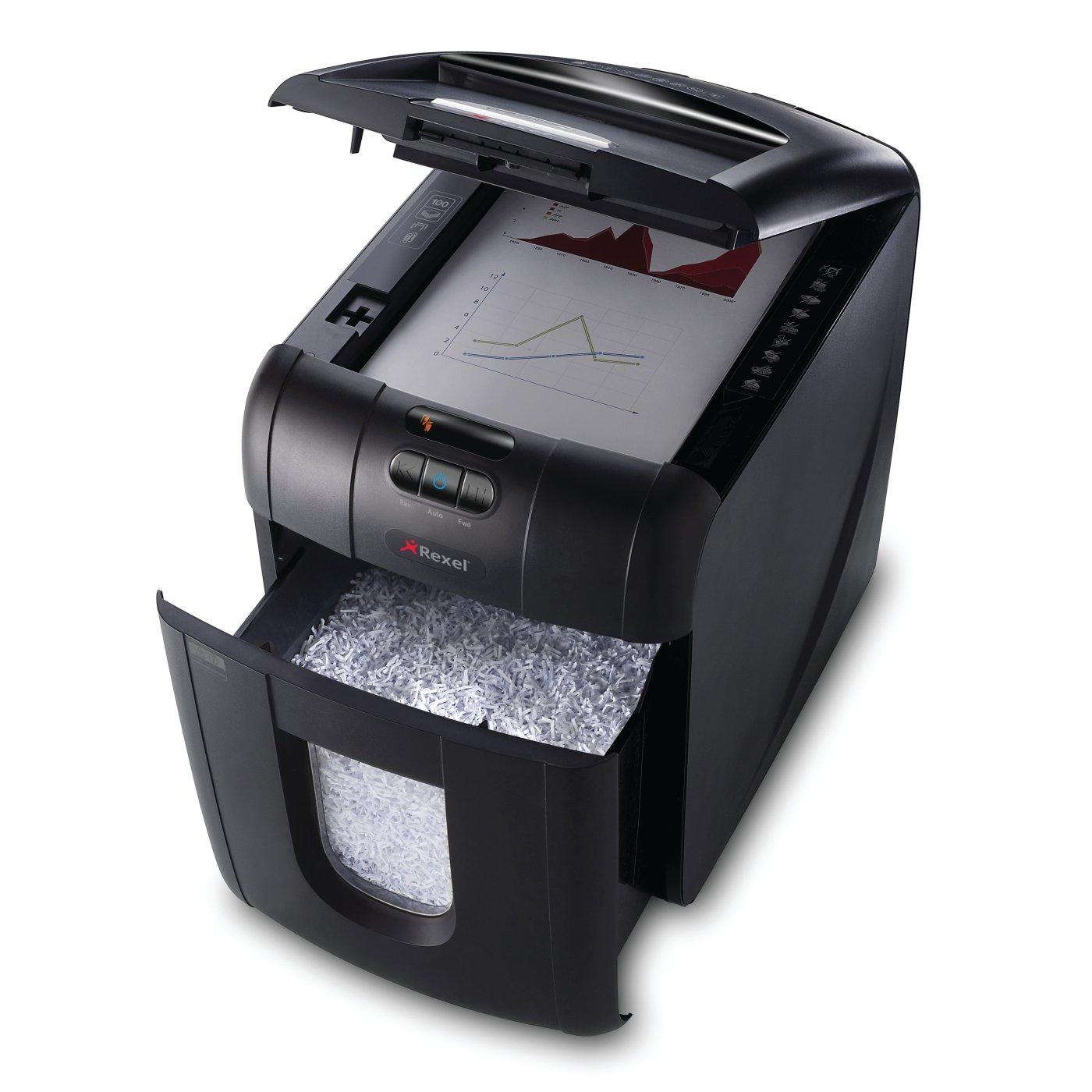 Shredders Home And Office Rexel Auto 100m Shredder