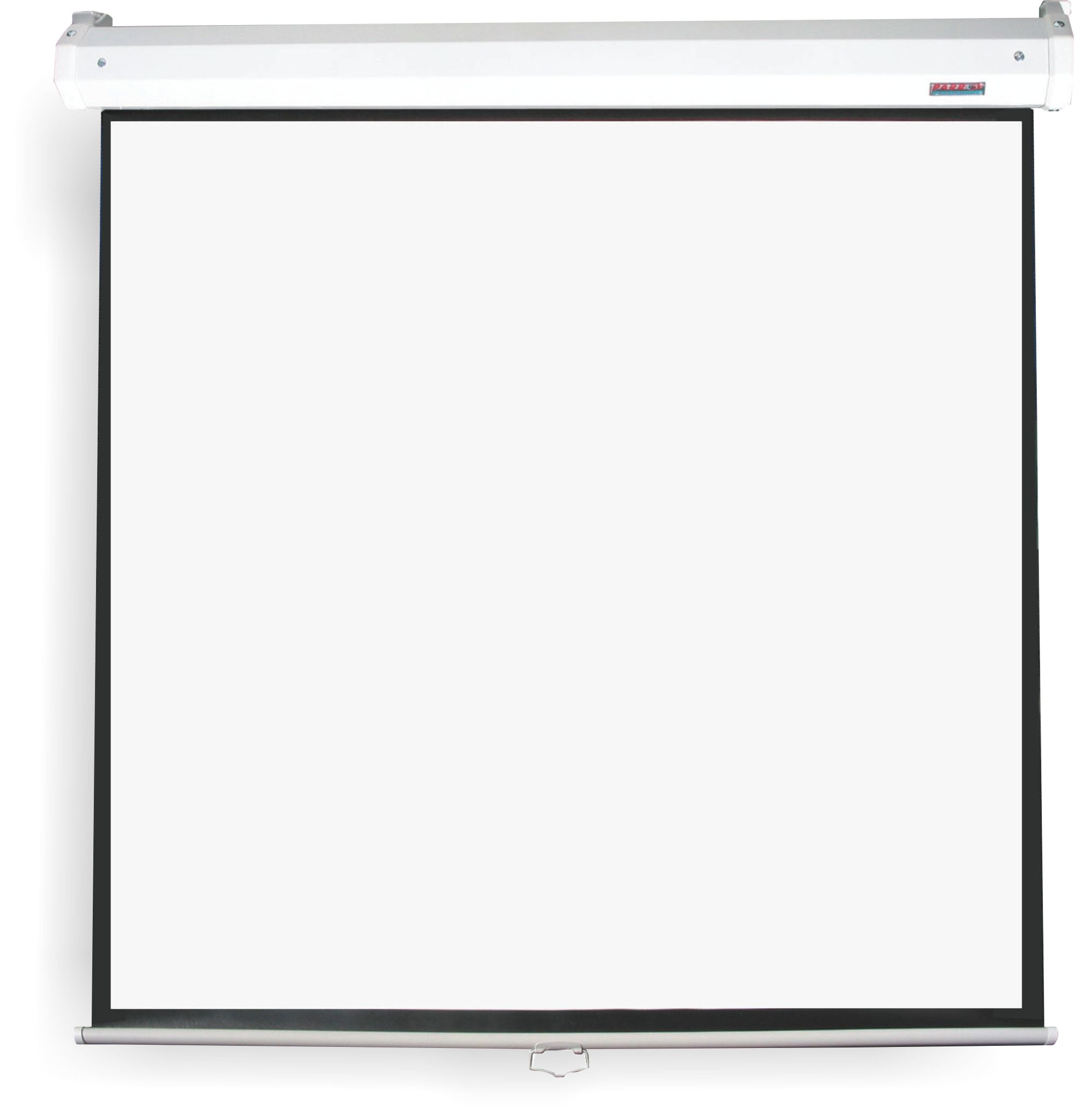Projector screens pulldown projection screens 16 9 for Motorized drop down projector screen